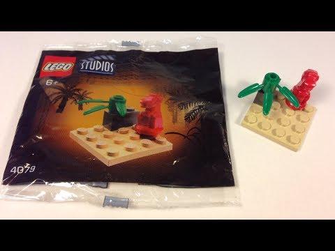 LEGO Coca-Cola Studios 4079 Mini T-Rex Dinosaur - 2001 Jurassic Park