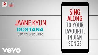 Jaane Kyun - Dostana Official Bollywood Lyrics Vishal Dadlani Vishal & Shekhar