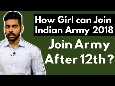 How to Join Indian Army After 12th | For Girls | NDA Exam | Defence Jobs after 12th | 2018