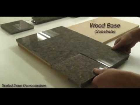 Granite Tile Countertop & Tile Component System