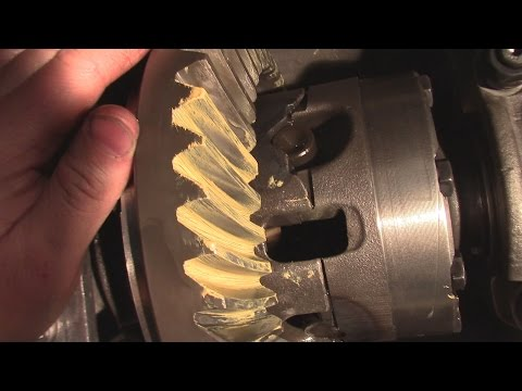 How to Change Gears and Bearings  on a Rear End Or Differential AMC 20