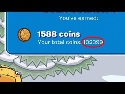 Club Penguin Rewritten UNLIMITED Coin Glitch