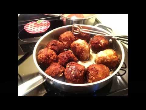 Italian Turkey Meatballs - Amazing Meal, Easy to Make! Sicilian Prince's Family Recipe.