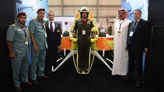 Dubai's Firefighters Get Jetpacks To Fight Blazes in High-Rise Buildings