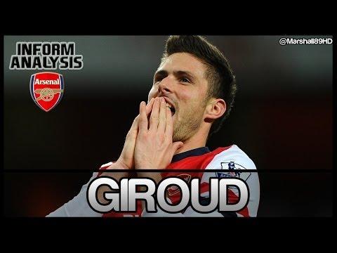 FIFA 14 UT - Inform Analysis - Olivier Giroud || IF Ultimate Team Player Review ||