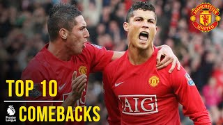 Manchester United's Top 10 Premier League Comebacks | Manchester United