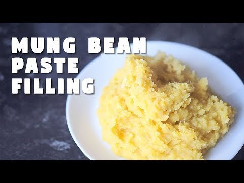 Mung Bean Paste | Sesame Balls Filling | Hungry for Goodies