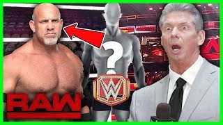 WWE BREAKING NEWS: SECRET UPDATES ON GOLDBERG