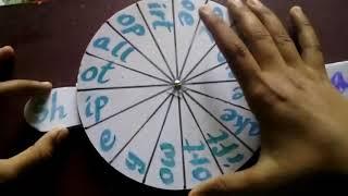 English TLM - Prefix vocabulary wheels