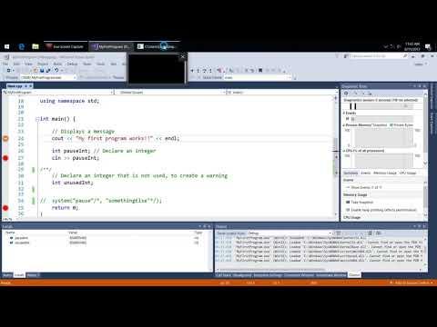 Using Breakpoints in Visual Studio
