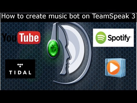 [How to]TeamSpeak3 Music Bot Tutorial  2017/18 Short and Easy. YouTube, Spotify, WindowsMediaPlayer.
