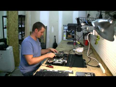 HP DV9000 High-speed fan mod.  Cooling upgrade hack