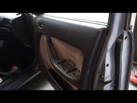 How to replace speaker in door Toyota Camry. Years 1992 to 2002