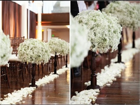 Wedding Aisle Flowers Pictures - Flowers Ideas