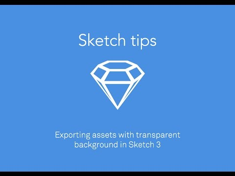 Sketch 3 - export with transparent BG