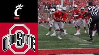 Cincinnati vs #5 Ohio State Highlights   NCAAF Week 2   College Football Highlights