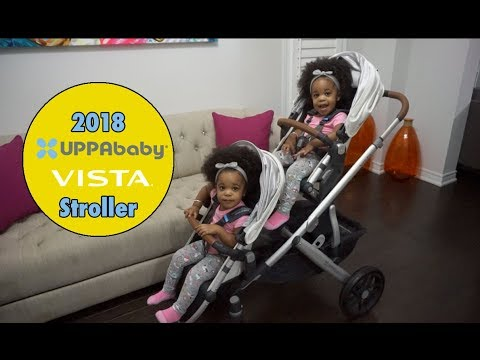 TWIN TODDLER TIME | 2018 UPPABABY VISTA STROLLER