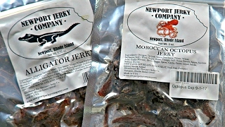 Exotic Jerky Taste Test