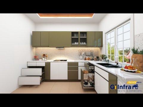 3D Max vray 3.6  Kitchen Modeling + rendering+rendering setup+Interior Design 2016+Vray 3.6