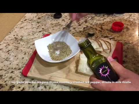 Milk Thistle Dipping Oil