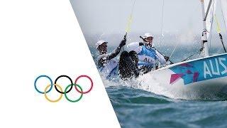 Page & Belcher (AUS) Win Men's Sailing 470 Race Gold -  London 2012 Olympics