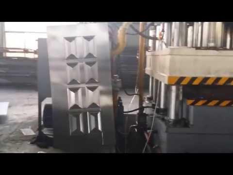 Steel Door Production Line for Hydraulic Press 2000 ton | Metal Door Panels