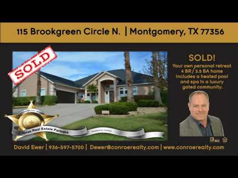 GATED COMMUNITY HOME WITH POOL MONTOMERY TEXAS