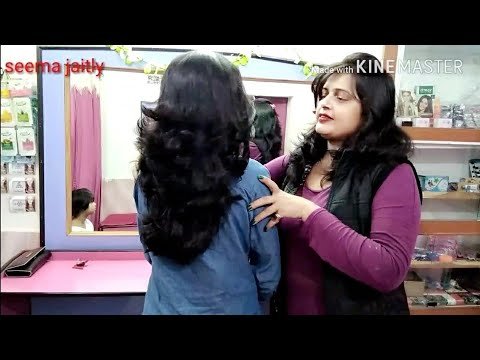 Feather cut with layers,💇 How to cut Feathers cut,Seema jaitly