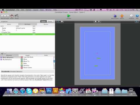 How To Make Doodle Jump Game In GameSalad