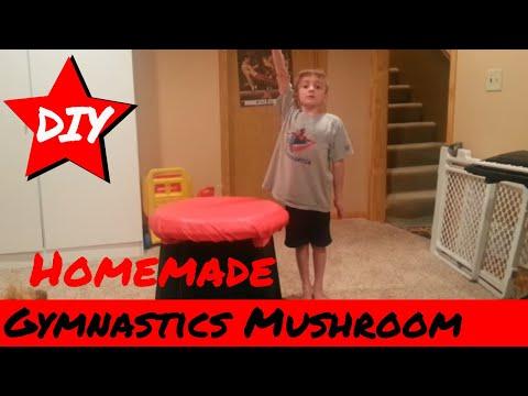How to Build a Gymnastics Mushroom - DIY