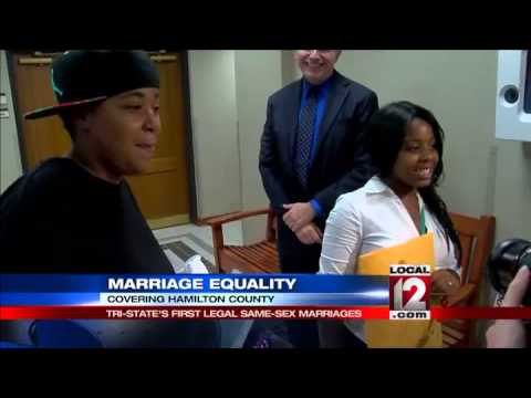 Tri-State's first legal, same-sex marriages