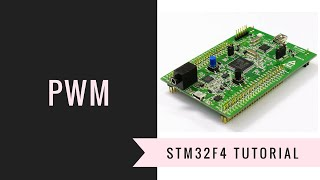 STM32F4 (#1) PWM, Encoder Mode