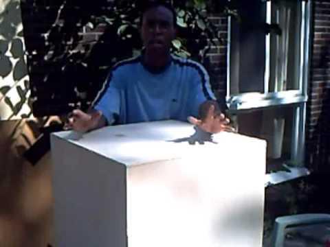 DIY Furniture: Giant Dice Box Table