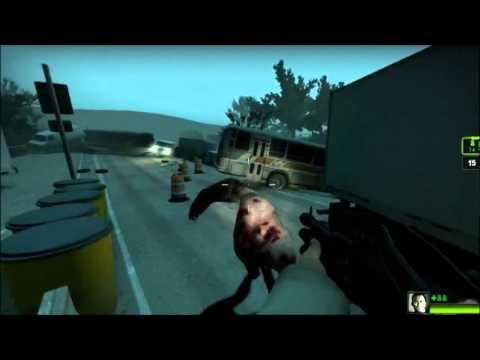 Megaman 6 Wily Battle Tank Theme - Left 4 Dead 2 Sound Replacement Mod