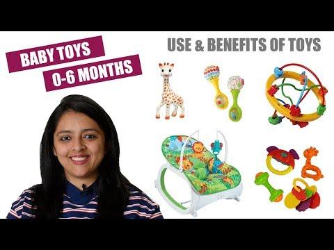 बच्चों के लिए खिलोने || BABY TOYS FOR 0-6 MONTHS