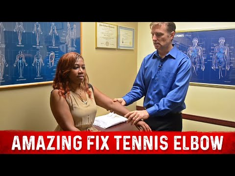 Amazing Fix for Tennis Elbow: MUST WATCH!