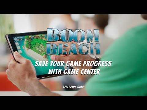 Boom Beach: Save your Game Progress with Game Center (iOS)