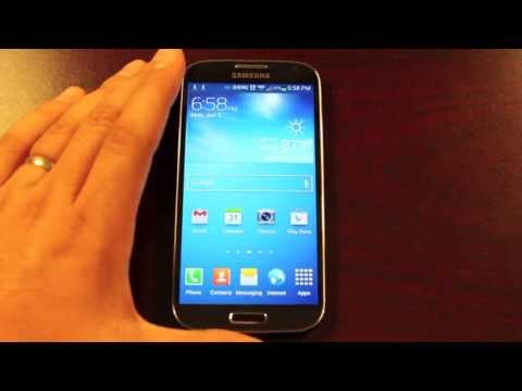 Verizon Galaxy S4 How To Remove Ongoing Wifi Notification