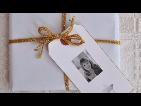 Make an Easy Personalised Gift Tag - DIY Crafts - Guidecentral