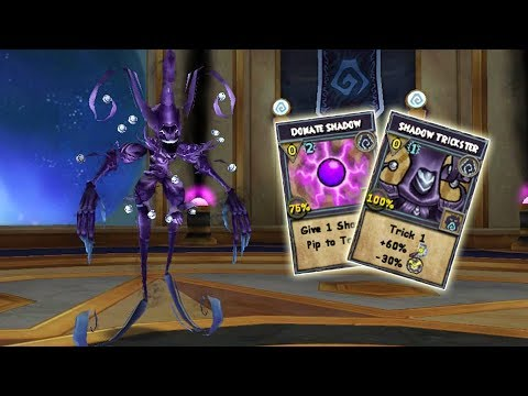 Wizard101: Shadow Trickster Solo Instance, Casting New Shadow Spells