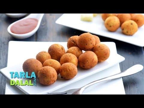Cheese Balls, Veg Starter Recipe by Tarla Dalal