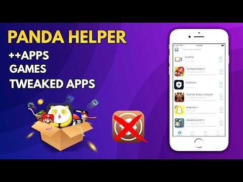 PandaHelper FREE!! Get Paid & Tweaked Apps/Games On iPhone, iPad, iPod - iOS 11.1.2 /11.2 (NO JB)