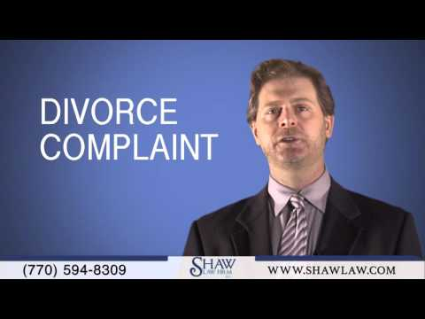 Process Of Filing Divorce Complaint in State of Georgia