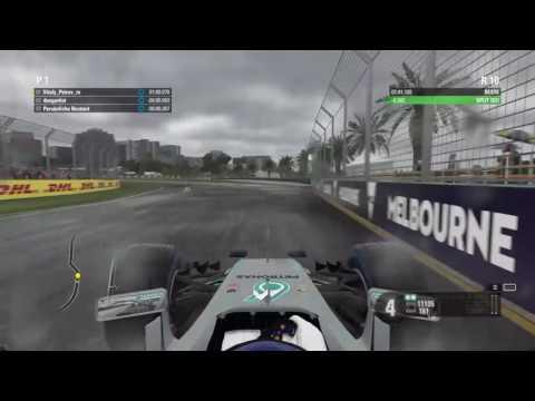 F1 2016 - Australia Hotlap Wet - (1:40.533)