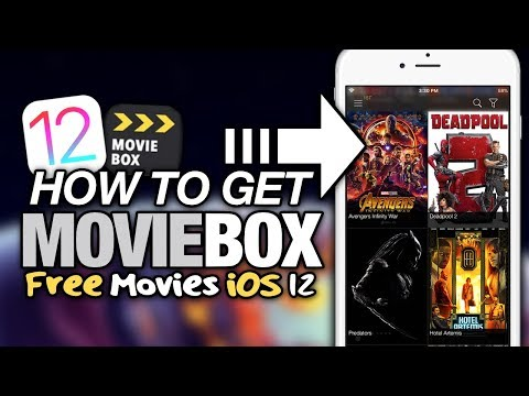 How To Get MOVIEBOX On iOS 12 NO JAILBREAK - FREE MOVIES & TV SHOWS