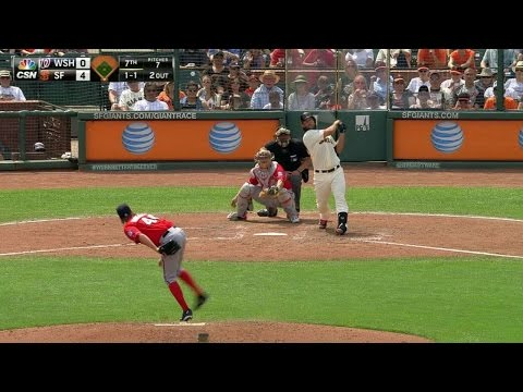 Bumgarner crushes a solo shot in the 7th