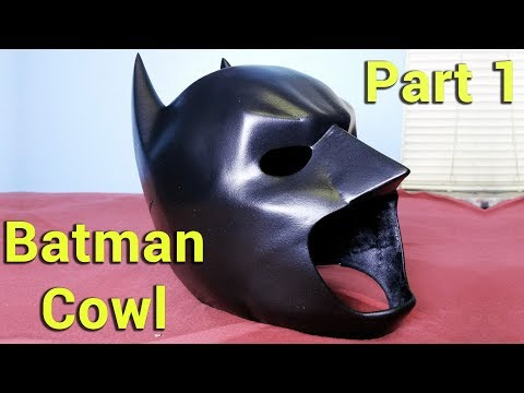 Making a Batman Costume : The Cowl part 1