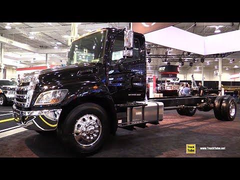 2019 Hino 338 Truck - Exterior and Interior Walkaround - 2018 Truckworld Toronto