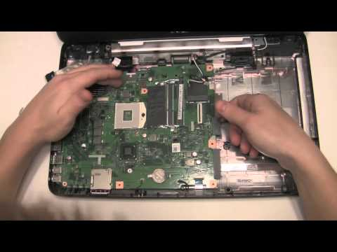 Dell Inspiron 15 15N N5050 Teardown Disassembly HOW TO Replace HDD Hard drive and more