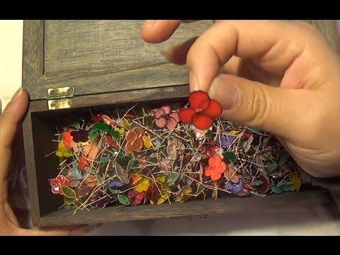 DIY Pinterest Nail Polish Flowers 2014